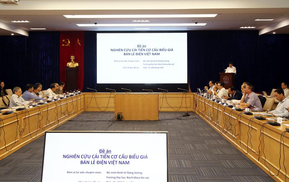 Hội thảo góp ý về Đề án Nghiên cứu cải tiến cơ cấu biểu giá bán lẻ điện