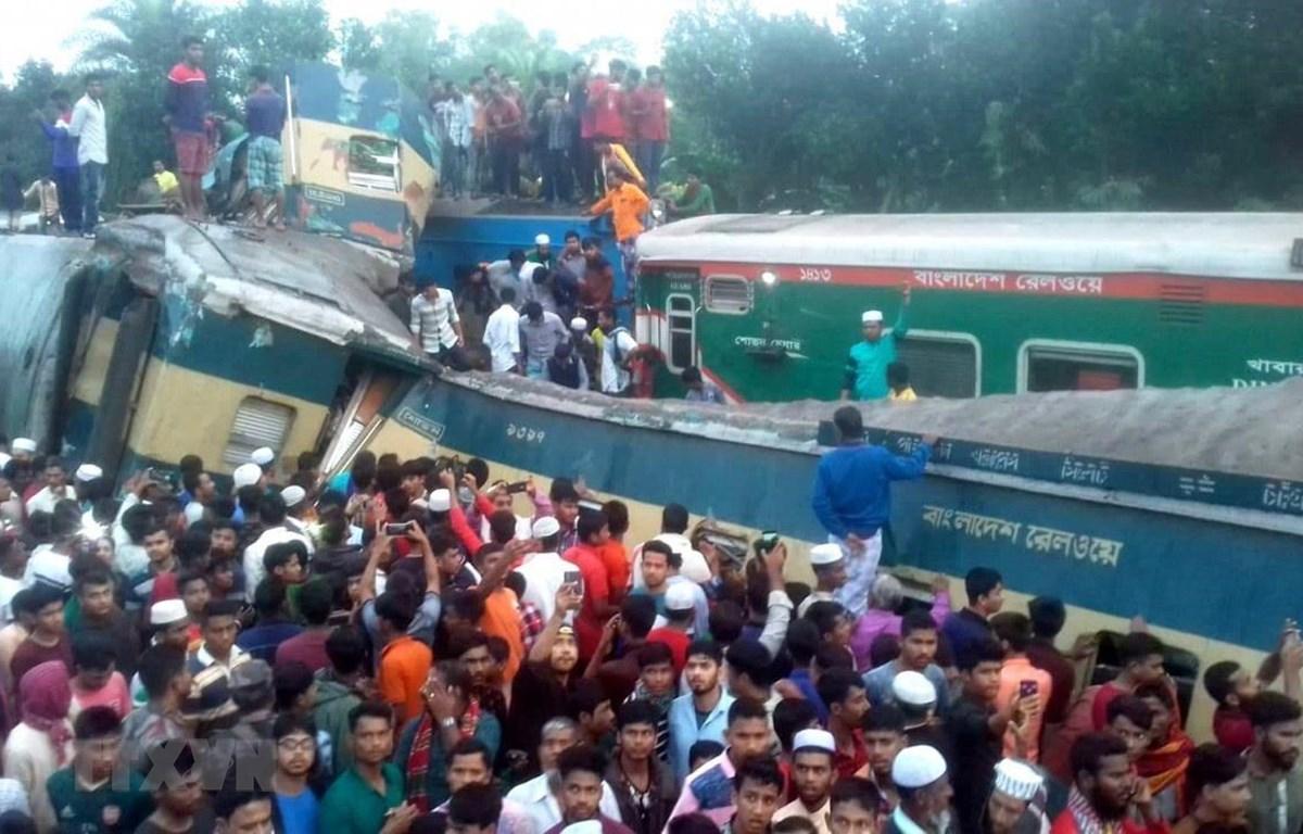 Bangladesh Số người thiệt mạng trong vụ tai nạn tàu hỏa tiếp tục tăng