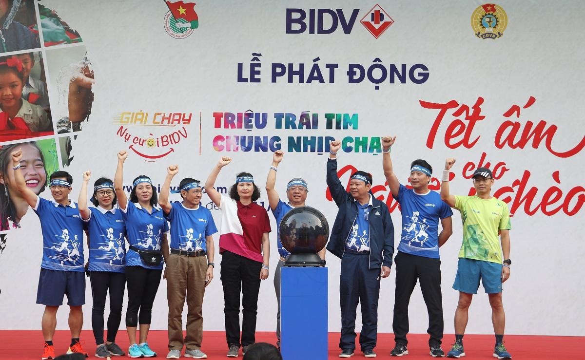BIDV Giải chạy online khởi động ấn tượng với hơn 16 000 người đăng ký tham gia