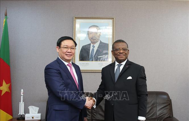 Phó Thủ tướng Vương Đình Huệ thăm và làm việc tại Cameroon 🎥