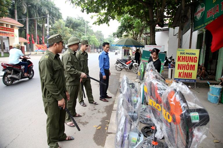 Tam Dương Vĩnh Phúc  Tăng cường công tác tuyên truyền nâng cao ý thức tham gia giao thông