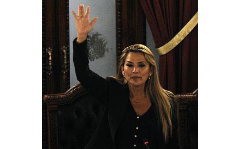 Bolivia Thượng nghị sĩ J Anez làm tổng thống lâm thời