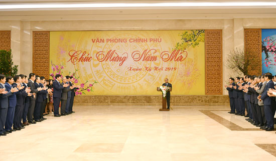 Thủ tướng đôn đốc triển khai công việc đầu năm