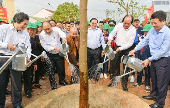 Thủ tướng kêu gọi người dân Thủ đô trồng cây
