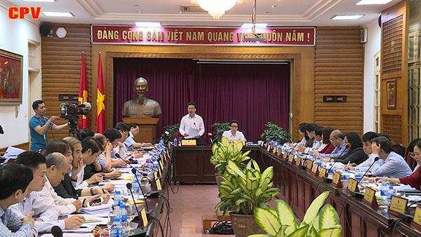 Ban Chỉ đạo thực hiện Nghị quyết số 33 - NQ TW làm việc với Bộ Văn hóa - Thể thao và Du lịch