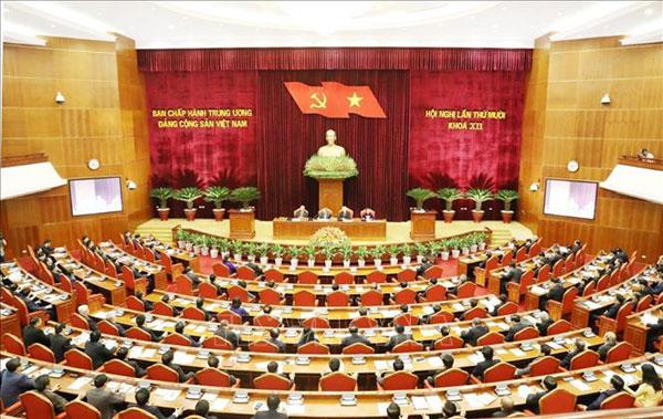 Ngày làm việc thứ nhất Hội nghị lần thứ 10 Ban Chấp hành Trung ương Đảng khoá XII