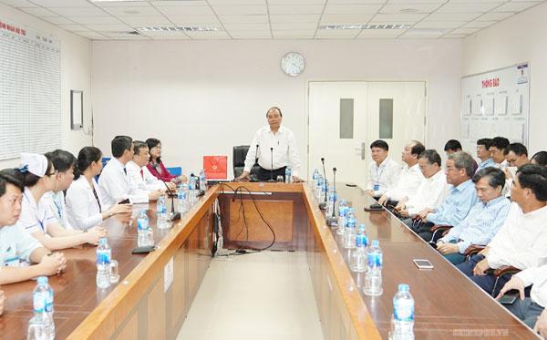 Thủ tướng thăm và làm việc tại Đồng Nai
