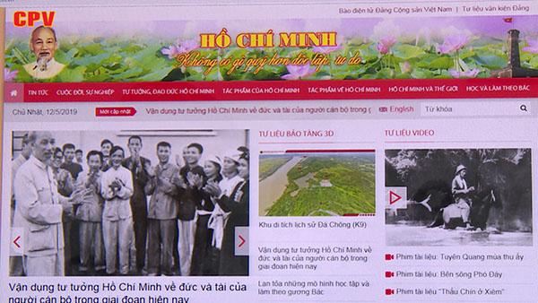 Trang thông tin điện tử Hồ Chí Minh - Đổi mới để đáp ứng nhu cầu công chúng