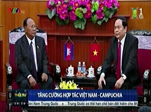 Tăng cường hợp tác Việt Nam – Campuchia