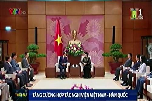 Tăng cường hợp tác Nghị viện Việt Nam – Hàn Quốc