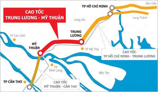 Thủ tướng tháo gỡ khó khăn cho dự án Trung Lương – Mỹ Thuận