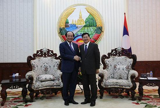 Tăng cường hợp tác Việt Nam – Lào