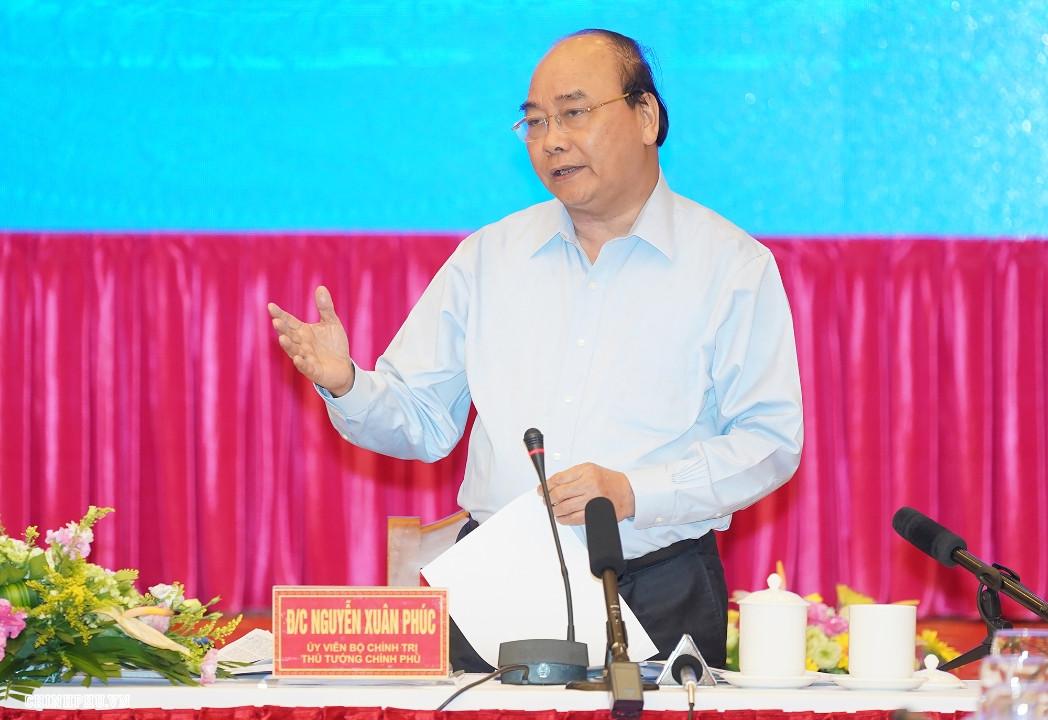 Thủ tướng Nguyễn Xuân Phúc làm việc tại miền Trung và Tây Nguyên