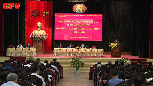 Di chúc của Chủ tịch Hồ Chí Minh - Tầm nhìn chiến lược về công tác xây dựng, chỉnh đốn Đảng