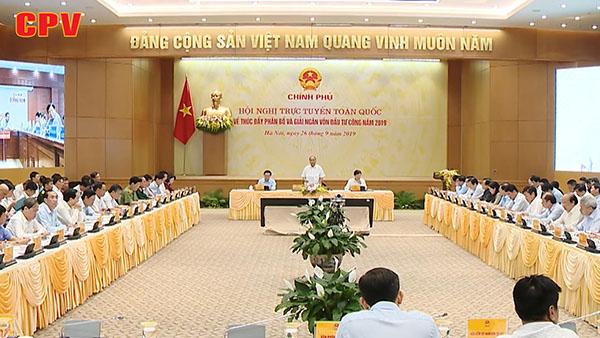 Hội nghị trực tuyến toàn quốc về giải ngân vốn đầu tư công