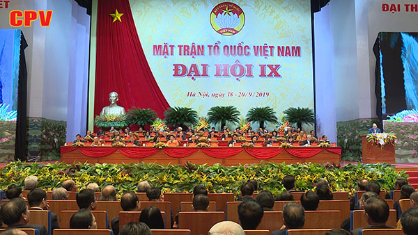 Khai mạc Đại hội Đại biểu toàn quốc MTTQ Việt Nam lần thứ IX
