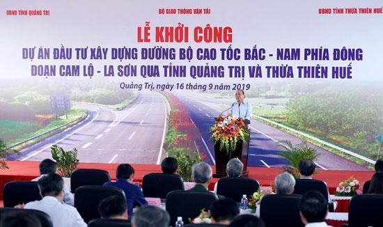 Thủ tướng khởi công cao tốc Bắc – Nam