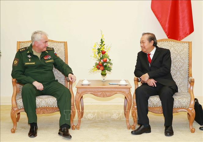Tăng cường quan hệ hợp tác quốc phòng Việt - Nga
