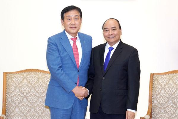 Thủ tướng hoan nghênh Hana là cổ đông chiến lược của BIDV