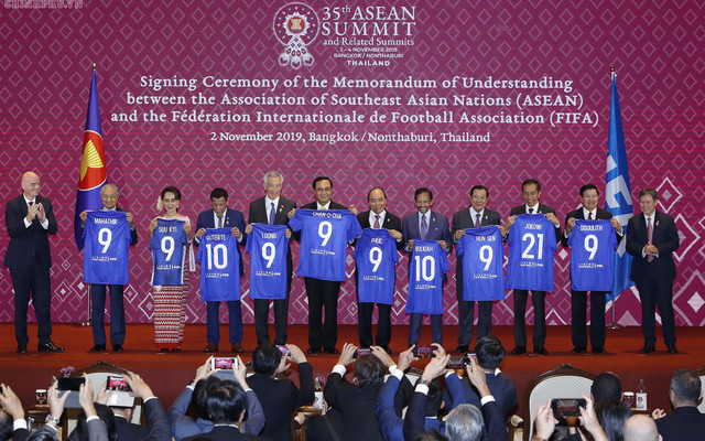 ASEAN và FIFA ký thỏa thuận hợp tác