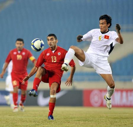 Li Băng 1 - 1 Việt Nam Thầy trò HLV Calisto phải nói lời chia tay với Asian Cup 2011