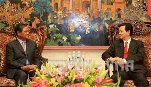 Thủ tướng Nguyễn Tấn Dũng Bộ Công an Việt Nam và Bộ Nội vụ Campuchia cần tiếp tục đẩy mạnh quan hệ hợp tác, vì quyền lợi của nhân dân hai nước