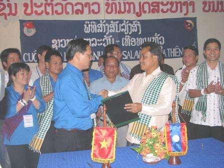Thừa Thiên - Huế đẩy mạnh quan hệ hợp tác trên các lĩnh vực với CHDCND Lào
