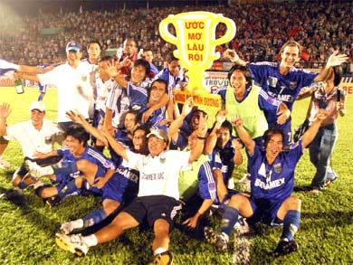 Việt Nam có một đại diện đứng trong Top 10 các CLB hàng đầu châu Á năm 2009