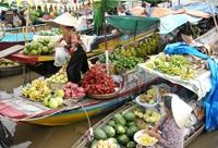 Nét đẹp chợ nổi sông nước miền Tây