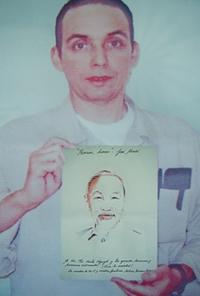 Kỷ niệm lần thứ 51 Quốc khánh Cuba 1-1-1959 – 1-1-2010  Chân dung Chủ tịch Hồ Chí Minh được vẽ trong nhà tù Mỹ