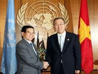 Liên hợp quốc năm 2009 Vai trò Liên hợp quốc, vai trò và uy tín của Việt Nam gia tăng