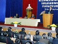 Thủ tướng Nguyễn Tấn Dũng tiếp xúc cử tri tại thành phố Hải Phòng