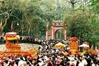 Đồng chí Tô Huy Rứa dự Lễ ra mắt Quỹ tu bổ Đền Hùng