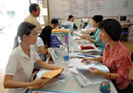 Hà Nội bố trí tám điểm nhận hồ sơ giải quyết bảo hiểm thất nghiệp
