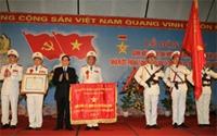 Chủ tịch nước Nguyễn Minh Triết Lực lượng Công an nhân dân cần tiếp tục đẩy mạnh hoạt động xây dựng tổ chức Đảng, đơn vị trong sạch vững mạnh