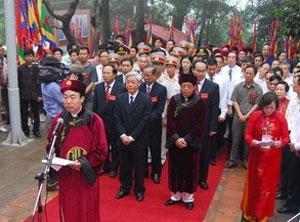 Nhiều hoạt động văn hóa nhân Giỗ Tổ Hùng Vương