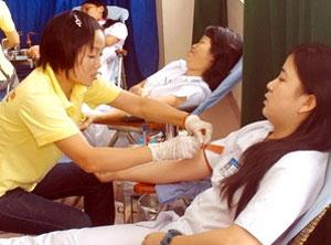 Vận động hiến 136 600 đơn vị máu trong dịp Tết