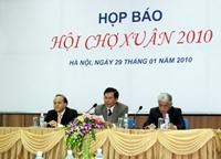 Sẽ có gần 1000 gian hàng tại Hội chợ Xuân 2010 tại Hà Nội