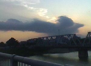 Ra mắt bức ảnh Mây hóa rồng độc đáo, kỳ thú
