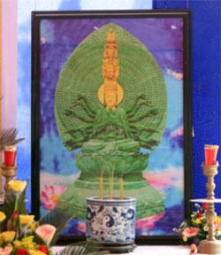 Cung nghinh tượng Ngọc Quan Âm về Việt Nam