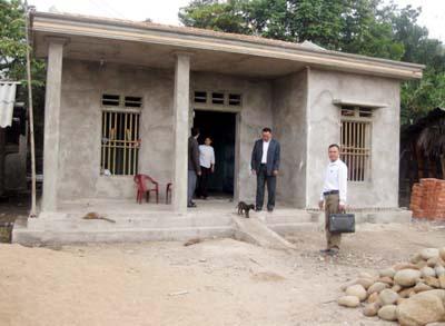 Tiên Yên Đẩy nhanh tiến độ xây nhà ở cho hộ nghèo