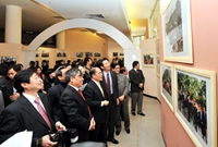 Khai mạc Triển lãm ảnh 60 năm hữu nghị Việt - Trung