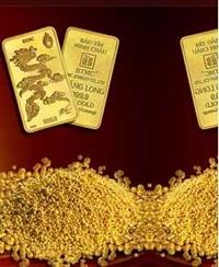 Vàng đã tăng khoảng 50 000 đồng lượng