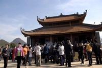 Lần đầu tiên mở Hội Đền thờ Vua Lê Lợi tại Lai Châu