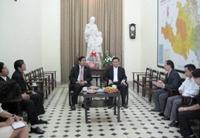 Ủy ban Trung ương Mặt trận Tổ quốc Việt Nam chúc Tết Tòa Tổng giám mục Hà Nội