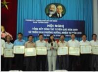TP Hồ Chí Minh Tổng kết công tác Tuyên giáo năm 2009 và triển khai nhiệm vụ năm 2010