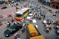 Hà Nội Tổ chức phân luồng giao thông tại các nút giao thông, tuyến đường trọng điểm