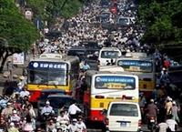 Gia tăng ùn tắc giao thông những ngày cận Tết