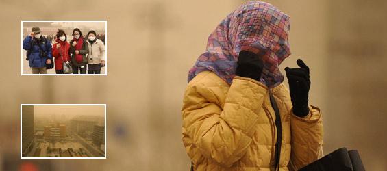 Bão cát hoành hành tại thủ đô Bắc Kinh