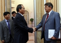 Phó Thủ tướng Nguyễn Thiện Nhân thăm chính thức LB Nga